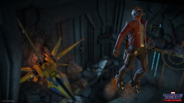 Las capturas de Guardianes de la Galaxia nos muestran el estilo cómic clásico de Telltale.