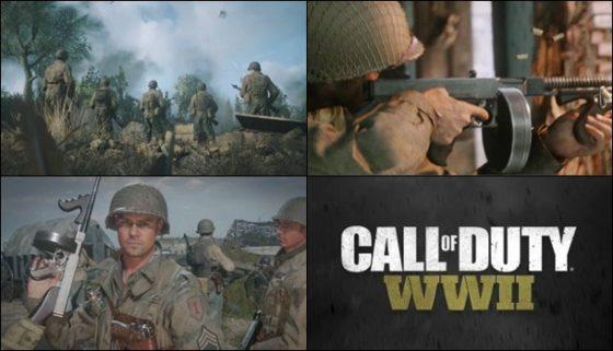Estas son las imágenes de Call of Duty WWII recientemente filtradas.