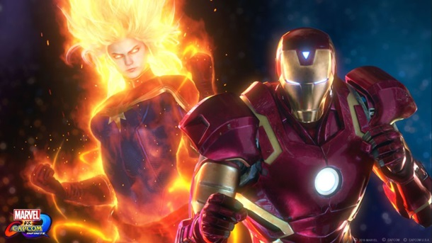 videos de Marvel vs Capcom Infinite y sus personajes