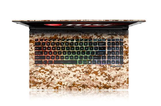 Un teclado tan atractivo como todo el conjunto.