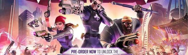 equipo de Agents of Mayhem