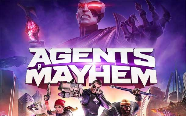 protagonistas de Agents of Mayhem
