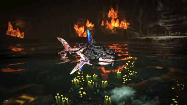 Una de las criaturas que añade el último parche para ARK Survival Evolved.