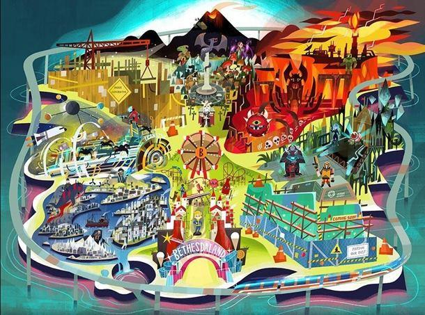 La conferencia de Bethesda en el E3 2017 podría traernos dos nuevas IP, según los rumores.