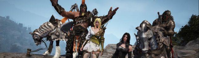 Confirmado el lanzamiento de Black Desert Online en Steam