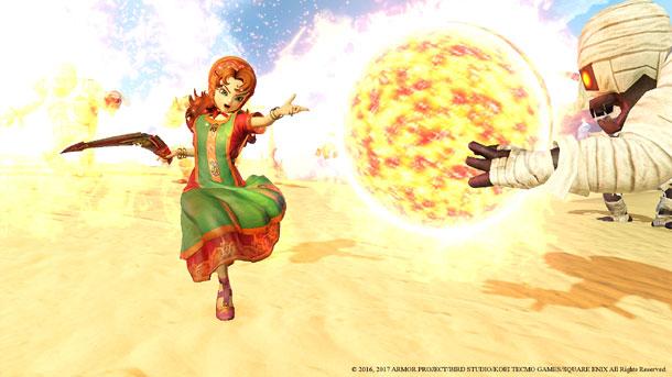contenido de Dragon Quest Heroes II