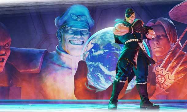 luchadores de Street Fighter V