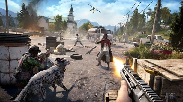 Podremos jugar en modo cooperativo en Far Cry 5(cinco) durante toda la campaña.
