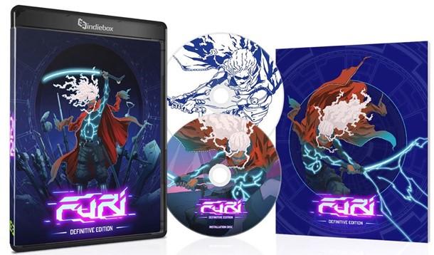 Así es la edición coleccionista de Furi en formato físico para PC.