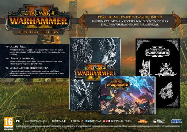 fecha de lanzamiento de Total War Warhammer II