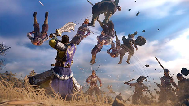 estilo de combate de Dynasty Warriors 9