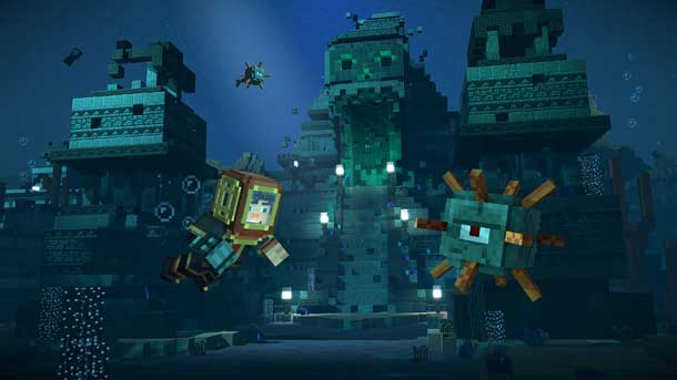 temporada de Minecraft Story Mode