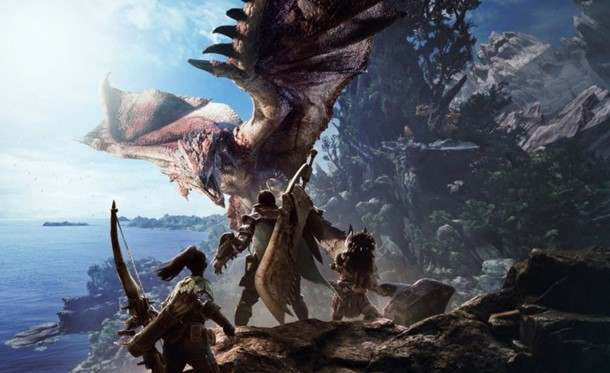 Ya puedes ver cerca de media hora de gameplay de Monster Hunter World.