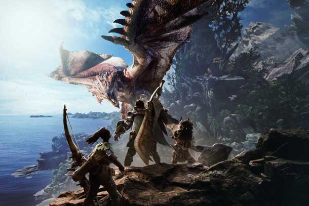 Capcom ha anunciado Monster Hunter World en el E3 2017