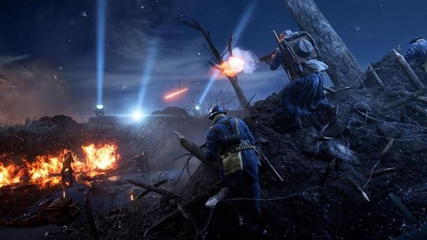 Noches de Nivelle es el primer mapa nocturno de Battlefield 1.