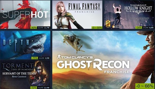 Ya han empezado las rebajas de verano en Steam de este año.