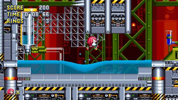 Chemical Plant en Sonic Mania