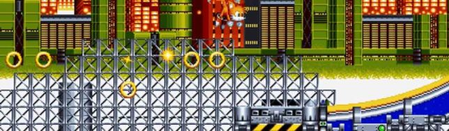 Chemical Plant en Sonic Mania