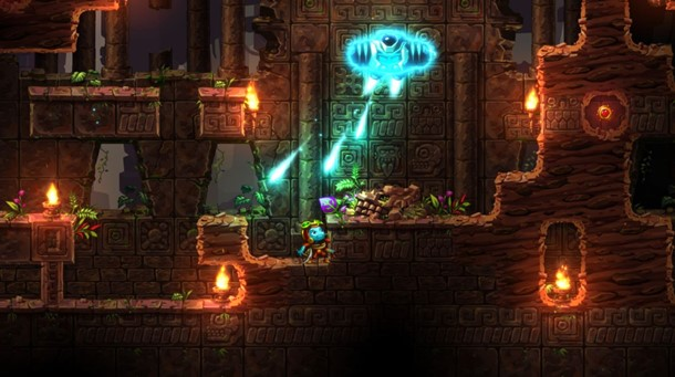 Podrás jugar a Steamworld Dig 2 en PC y Nintendo Switch este año.