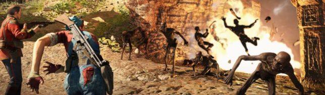 Catorce minutos de gameplay de Strange Brigade ya disponibles.