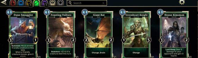¿Ganas de cartas? Puedes encontrar ya disponible The Elder Scrolls Legends en Steam.