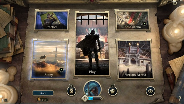 ¿Ganas de cartas? Puedes encontrar ya disponible The Elder Scrolls Legends en Steam.