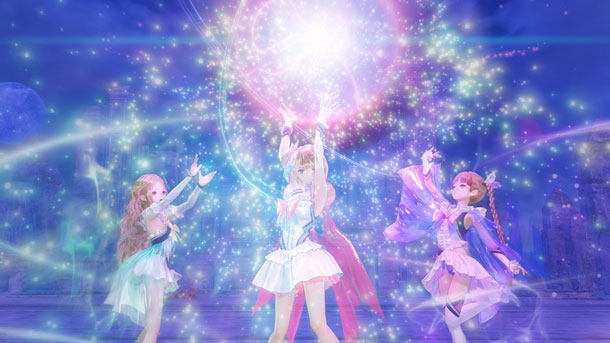 tráiler de Blue Reflection