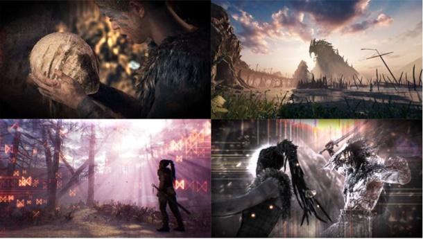 Ejemplos de capturas usando el modo foto para Hellblade Senua's Sacrifice.