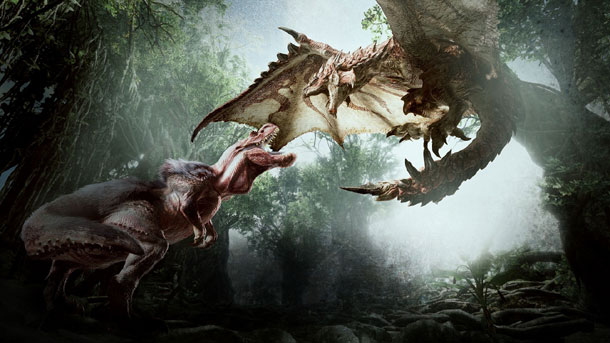 contenidos de Monster Hunter World