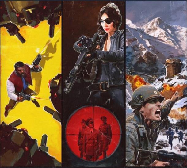 Arte conceptual del pase de temporada de Wolfenstein 2.
