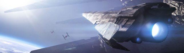 Táiler de las batallas espaciales de Star Wars Battlefront 2 para su presentación en la Gamescom.