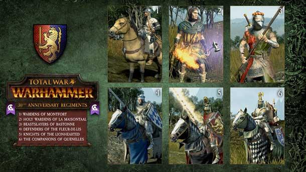 unidades de élite de Total War Warhammer