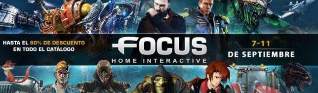 Rebajas de Focus Home Interactive con hasta el 80% de descuento.