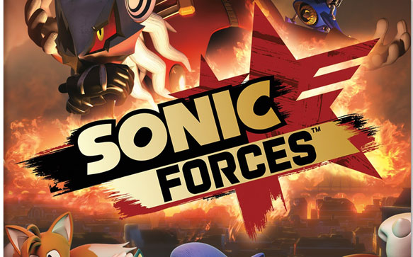 nivel clásico de Sonic Forces