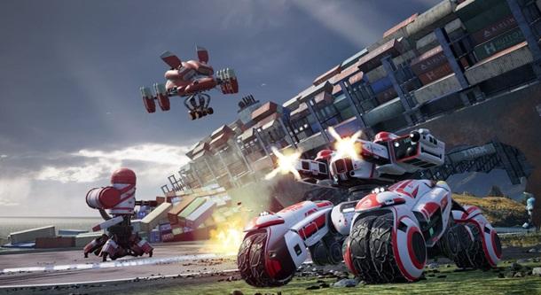 Anunciado Switchblade para PC y PS4, un título multijugador online free-to-play que combina acción, shooter y coches.