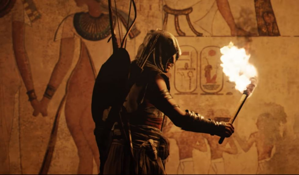Ya puedes ver un gameplay de sigilo en Assassin's Creed Origins.