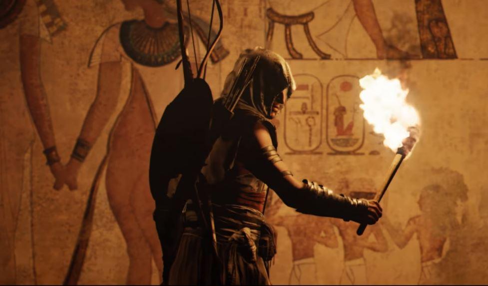 Ya puedes ver un gameplay de sigilo en Assassin's Creed Origins.