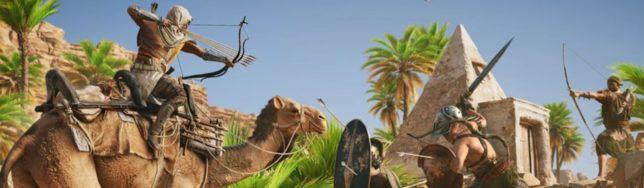 Todo sobre el nuevo modo educativo para Assassin's Creed Origins.
