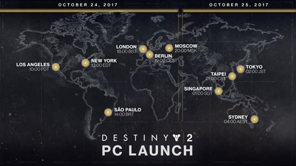 Descubre los requisitos de Destiny 2 para su lanzamiento en PC.