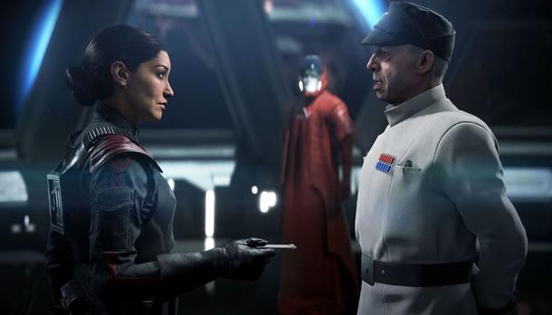 La comandante del Escuadrón Inferno, Iden Versio, protagonizará la campaña de Star Wars Battlefront 2, de la que ya puedes ver una pequeña escena.