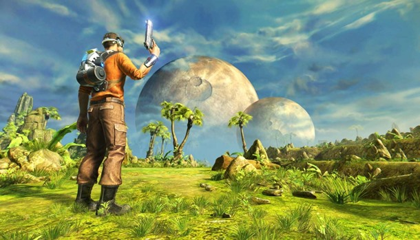 Hazte con Outcast Second Contact gratis a través de Humble Bundle.