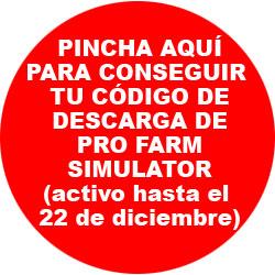 Pincha aquí para conseguir tu código de Pro Farm Simulator