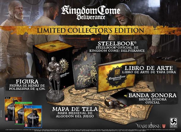 ediciones especiales de Kingdom Come Deliverance