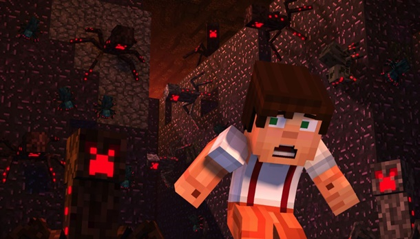 Descarga parte de la primera temporada de Minecraft Story Mode gratis en Windows Store.