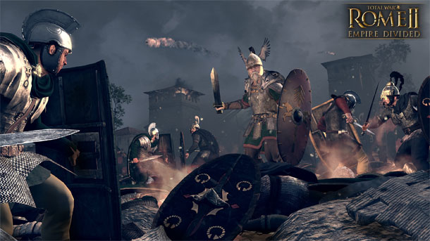 campaña para Total War Rome II