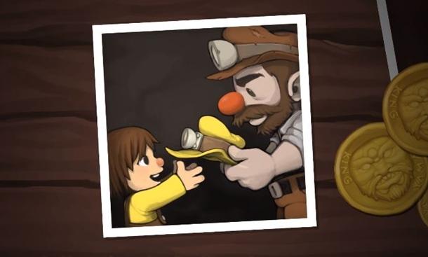 Tierna imágen del primer tráiler del recién anunciado Spelunky 2, que se desarrolla actualmente para PC y PS4.