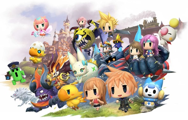 Desvelados los requisitos de World of Final Fantasy para PC.
