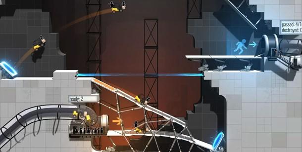 Así es el recién anunciado Bridge Constructor Portal, nuevo stand-alone de la saga.