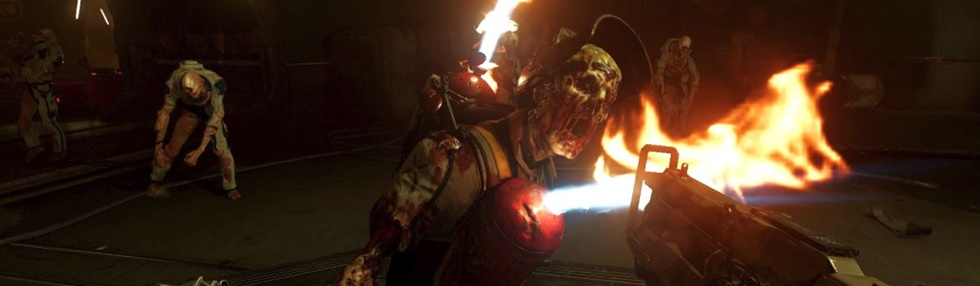 Lanzamiento de DOOM VFR en PC y PS4.