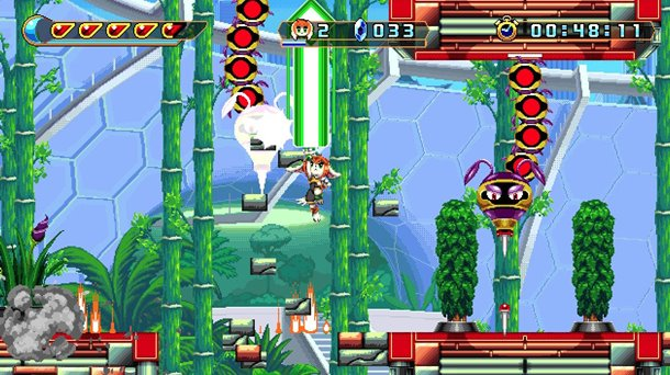 Tráiler de gameplay de Freedom Planet 2.